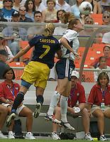 Cindy Parlow, 2003 WWC USA Sweden.