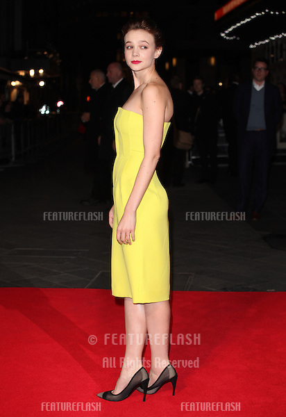 Carey Mulligan arriving for the Inside Llewyn Davis Premiere, at Odeon Leicester Square, London. 15/10/2013 Picture by: Alexandra Glen / Featureflash