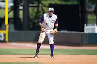 Winston-Salem Dash first baseman Brandon Dulin (31) on defense against the Potomac Nationals at BB&T Ballpark on August 6, 2017 in Winston-Salem, North Carolina.  The Nationals defeated the Dash 4-3 in 10 innings.  (Brian Westerholt/Four Seam Images)