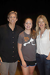 """Guiding Light's Grant Aleksander and  Cynthia Watros (poses with her daughter Emma who is also in the play) and all star in """"Breathing Under Dirt"""" - full play - had its world premier on August 13 and 14, 2016 at the Ella Fitzgerald Performing Arts Center, University of Maryland Eastern Shore, Princess Anne, Maryland  (Photo by Sue Coflin/Max Photos)"""