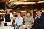 Kim Zimmer, Adam Reist, Jordan Clarke, Ron Raines - Meet & Greet - Day 2 - August 1, 2010 - So Long Springfield at Sea aboard Carnival's Glory (Photos by Sue Coflin/Max Photos)