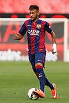 Barcelona´s Neymar Jr during La Liga match between Rayo Vallecano and Barcelona at Vallecas stadium in Madrid, Spain. October 04, 2014. (ALTERPHOTOS/Victor Blanco)
