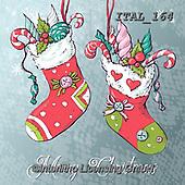 Alberta, CHRISTMAS SYMBOLS, WEIHNACHTEN SYMBOLE, NAVIDAD SÍMBOLOS,christmas stocking paintings+++++,ITAL164,#xx#