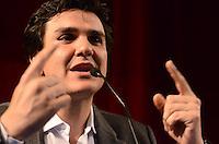 SAO PAULO, 31 DE JULHO DE 2012 - ELEICOES 2012 CHALITA - Candidato Gabriel Chalita em reunião com representantes do Sinesp - Sindicato dos Especialistas em Educação do Ensino Público Municipal de Sao Paulo, no teatro Gazeta, regiao central da capital, na manha desta terca feira. FOTO: ALEXANDRE MOREIRA - BRAZIL PHOTO PRESS