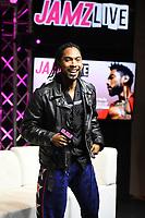 HOLLYWOOD, FL - NOVEMBER 13: Miguel attends Jamz Live at radio station 99 Jamz on November 13, 2017 in Hollywood, Florida. Credit: mpi04/MediaPunch /NortePhoto.com
