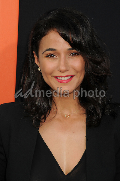 "3 June 2015 - West Hollywood, California - Emmanuelle Chriqui. ""Me And Earl And The Dying Girl"" Los Angeles Premiere held at the Harmony Gold Theatre. Photo Credit: Byron Purvis/AdMedia"