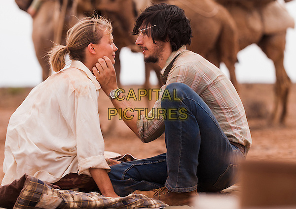 Mia Wasikowska, Adam Driver<br /> in Tracks (2013) <br /> *Filmstill - Editorial Use Only*<br /> CAP/NFS<br /> Image supplied by Capital Pictures