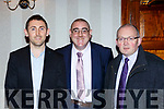 John Griffin Jimmy Darcy and at the Kerry Coiste na nÓg 50th anniversary celebrations in the Gleneagle Hotel on Saturday night
