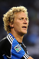 Steven Lenhart San Jose Earthquakes forward... Sporting KC defeated San Jose Earthquakes 1-0 at LIVESTRONG Sporting Park, Kansas City, Kansas.