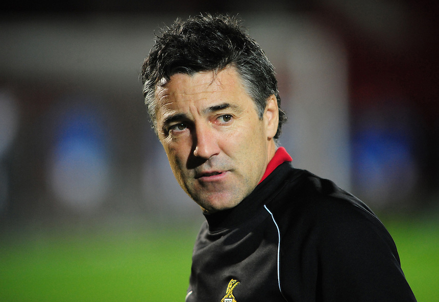 Doncaster Rovers's Manager Dean Saunders ..Football - npower Football League Division One - Doncaster Rovers v Preston North End - Tuesday 2nd October 2012 - Keepmoat Stadium - Doncaster..