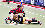 BUSSUM - Nederlandse D kampioenschappen Hockey bij Hockeyclub Goosche in Bussum. COPYRIGHT KOEN SUYK