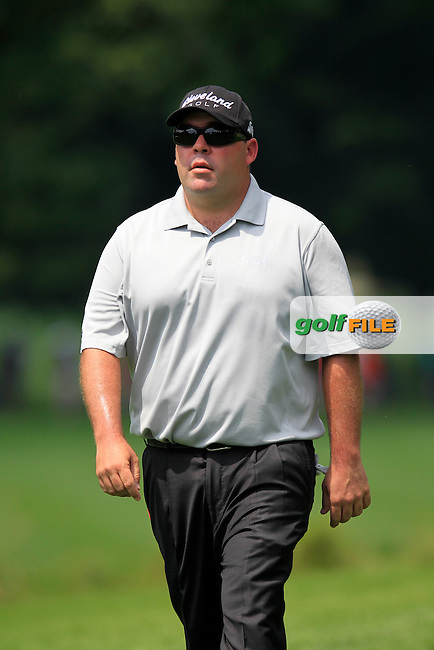 Kevin STADLER (USA) walks off the 2nd tee during Sunday's Final Round to win the WGC Bridgestone Invitational, held at the Firestone Country Club, Akron, Ohio.: Picture Eoin Clarke, www.golffile.ie: 3rd August 2014