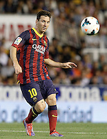 FC Barcelona's Leo Messi during La Liga match.September 1,2013. (ALTERPHOTOS/Acero) <br /> Football Calcio 2013/2014<br /> La Liga Spagna<br /> Foto Alterphotos / Insidefoto <br /> ITALY ONLY