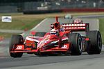 20 July 2007: Dan Wheldon (XEN) at the Honda 200 at Mid-Ohio, Lexington, Ohio.