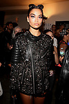 NY Fashion Week Backstage at Philipp Plein Fashion Show Held at the Hammerstein Ballroom