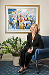 Financial Planner Meg Green in her Aventura, Florida office