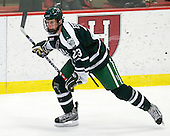 Adam Estoclet (Dartmouth - 23) - The Harvard University Crimson defeated the Dartmouth College Big Green 4-1 (EN) on Monday, January 18, 2010, at Bright Hockey Center in Cambridge, Massachusetts.