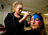 Te Auaha special effects makeup photoshoot at Weltec in Porirua, New Zealand on Wednesday, 24 May 2017. Photo: Dave Lintott / lintottphoto.co.nz