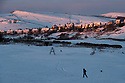 12/12/17<br /> The sun reflects on a houses as dawn breaks over Buxton after the coldest night of the year saw temperatures in the Derbyshire Peak District plummet to minus nine degrees celsius.<br />   <br /> All Rights Reserved F Stop Press Ltd. +44 (0)1335 344240 +44 (0)7765 242650  www.fstoppress.com