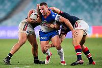 Blake Green. Sydney Roosters v Vodafone Warriors, NRL Rugby League. Allianz Stadium, Sydney, Australia. 31st March 2018. Copyright Photo: David Neilson / www.photosport.nz