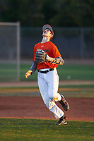 Alex Valastro (48), from Georgetown, Texas, while playing for the Orioles during the Under Armour Baseball Factory Recruiting Classic at Gene Autry Park on December 27, 2017 in Mesa, Arizona. (Zachary Lucy/Four Seam Images)
