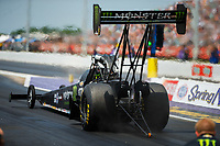 Apr 22, 2017; Baytown, TX, USA; NHRA top fuel driver Brittany Force during qualifying for the Springnationals at Royal Purple Raceway. Mandatory Credit: Mark J. Rebilas-USA TODAY Sports
