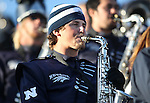 Members of the Wolf Pack Marching Band perform during an NCAA football game in Reno, Nev., on Saturday, Dec. 3, 2011. .Photo by Cathleen Allison