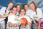 Pictured at the Mounthawk Basketball camp on Friday were, front row, l-r: Rachel McEniry, Maeve McKivergan. Back row, l-r: Avril Fitzgerald, Eimear Brosnan, Meabh Buckley and Rebecca Ryan.