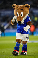 9th March 2020; King Power Stadium, Leicester, Midlands, England; English Premier League Football, Leicester City versus Aston Villa; Leicester City mascot before the game - Strictly Editorial Use Only. No use with unauthorized audio, video, data, fixture lists, club/league logos or 'live' services. Online in-match use limited to 120 images, no video emulation. No use in betting, games or single club/league/player publications