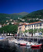 ITA, Italien, Lombardei, Comer See, Bellano: Yachthafen | ITA, Italy, Lombardia, Lake Como, Bellano: Yacht harbour