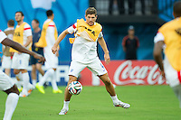 Steven Gerrard of England warms up