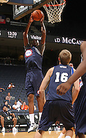 Amir Garrett at the NBPA Top100 camp June 17, 2010 at the John Paul Jones Arena in Charlottesville, VA. Visit www.nbpatop100.blogspot.com for more photos. (Photo © Andrew Shurtleff)