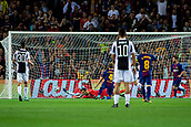 12th September 2017, Camp Nou, Barcelona, Spain; UEFA Champions League Group stage, FC Barcelona versus Juventus; Ivan Rakitic of FC Barcelona scores the 2-0 after a rebound from a Messi cross