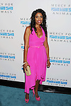 WEST HOLLYWOOD, CA- SEPTEMBER 12: Broadcast legal analyst Areva Martin attends Mercy For Animals 15th Anniversary Gala at The London on September 12, 2014 in West Hollywood, California.