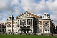 Concertgebouw bij het Museumplein in Amsterdam
