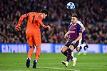 UEFA Champions League 2018/2019 - Matchday 6.<br /> FC Barcelona vs Tottenham Hotspur FC: 1-1.<br /> Lloris.