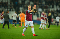Marko Arnautovic of West Ham United At the Final Whistle Applause Fan's during West Ham United vs Fulham, Premier League Football at The London Stadium on 22nd February 2019