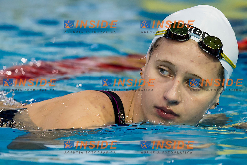 Egorova Polina RUS<br /> 100 Butterfly Women Final Gold Medal<br /> LEN 43rd Arena European Junior Swimming Championships<br /> Hodmezovasarhely, Hungary <br /> Day04 09-07-2016<br /> Photo Andrea Masini/Deepbluemedia/Insidefoto