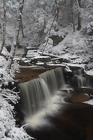 Winter Waterfalls of Ricketts Glen Pennsylvania