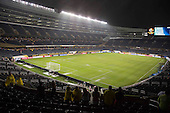 El partido de semifinal de la Copa América Centenario USA 2016 entre Colombia y Chile en el Soldier Field Stadium, Chicago, Illinois, fue suspendido por más de dos horas debido a tormentas eléctrica el 22 de junio de 2016.<br /> Foto: Archivolatino<br /> <br /> COPYRIGHT: Archivolatino/Alejandro Sanchez<br /> Prohibida su venta y su uso comercial.