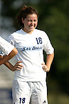 16 September 2005: Jackie Garcia. The North Carolina Tarheels defeated the San Diego Toreros 3-0 at Duke University's Koskinen Stadium in Durham, NC in a NCAA Division I women's soccer game.