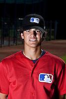 Baseball - MLB European Academy - Tirrenia (Italy) - 20/08/2009 - Maxime Lefevre (France)