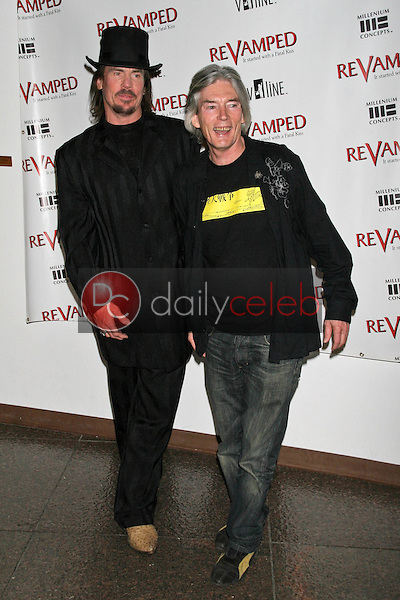 David &quot;Shark&quot; Fralick and Billy Drago<br />at the Los Angeles Premiere of &quot;Revamped&quot;. Directors Guild of America, Hollywood, CA. 03-29-07<br />Dave Edwards/DailyCeleb.com 818-249-4998