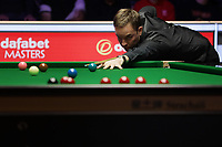 12th January 2020, Alexandra palace, London, United Kingdom; Ali Carter of England plays a shot during the round 1 match against Mark Selby of England at Snooker Masters 2020 at the Alexandra Palace .