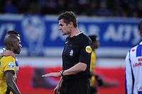 VOETBAL: HEERENVEEN: Abe Lenstra Stadion 04-04-2015, SC Heerenveen - NAC, uitslag 0-0, Scheidsrechter Eric Braamhaar, ©foto Martin de Jong