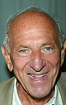 Jack Klugman attending a performance of.An Evening with Brett Somers at Danny's Cabaret .on West 46th Street in  New York City..July 28, 2003.