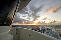 Mid Ocean Sunset