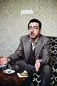 Irak 1983.Idriss Barzani à Karaj.Iraq 1983.Idriss Barzani in Karaj.