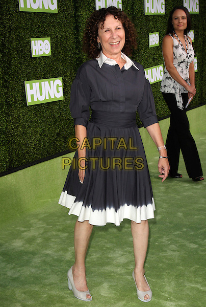 "RHEA PERLMAN.HBO Presents The Premiere Of ""Hung"" held at Paramount Studios, Los Angeles, California, USA..June 24th, 2009.full length black blue dress white trim .CAP/ADM/KB.©Kevan Brooks/AdMedia/Capital Pictures."