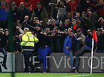 Liverpool fans celebrate the third goal during the English Premier League match at the Riverside Stadium, Middlesbrough. Picture date: December 14th, 2016. Pic Simon Bellis/Sportimage